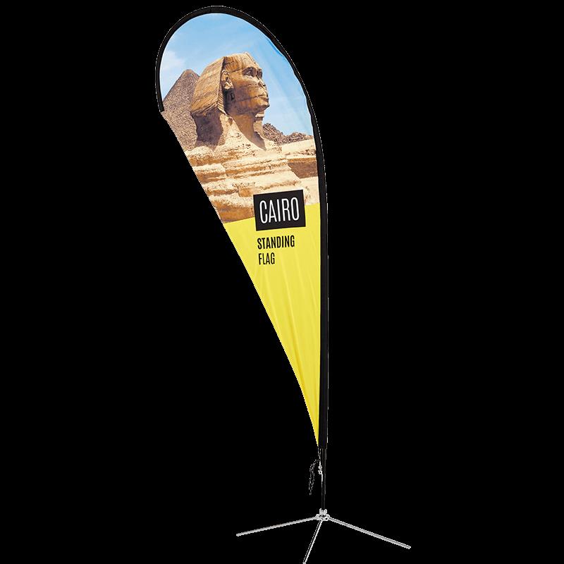 Cairo Standing Flag