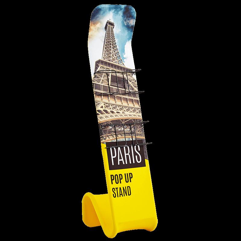 Paris Pop Up Stand