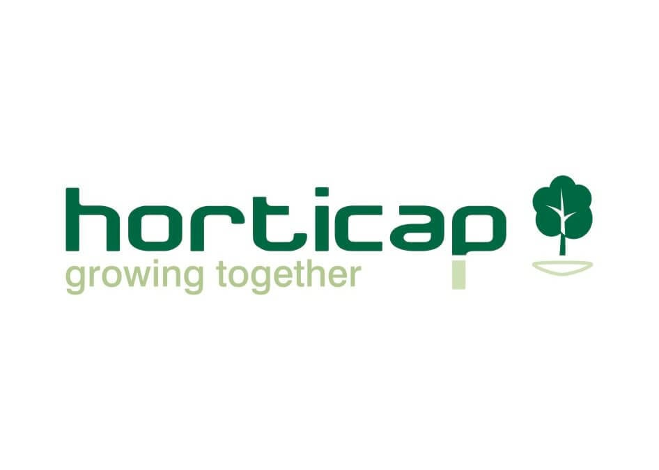 horticap logo - colour it in