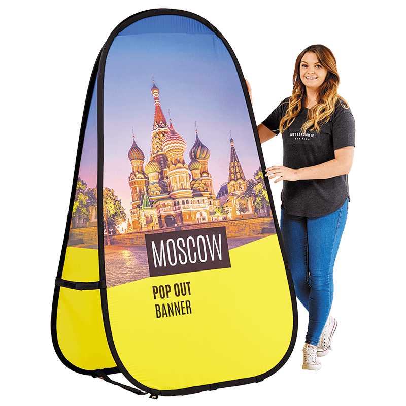 Moscow Pop Out Banner - Colour It In