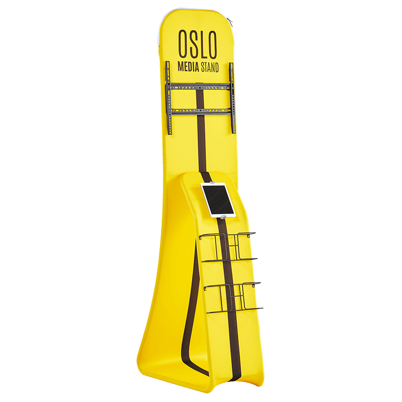 Oslo Media Stand - Colour It In