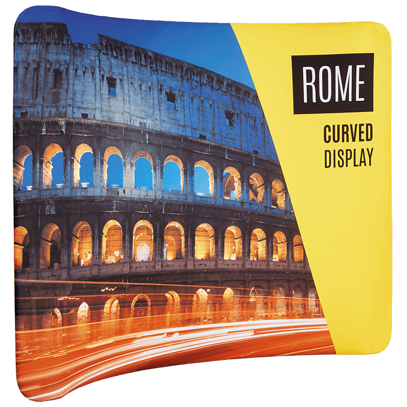 Rome Curved Display - Colour It In