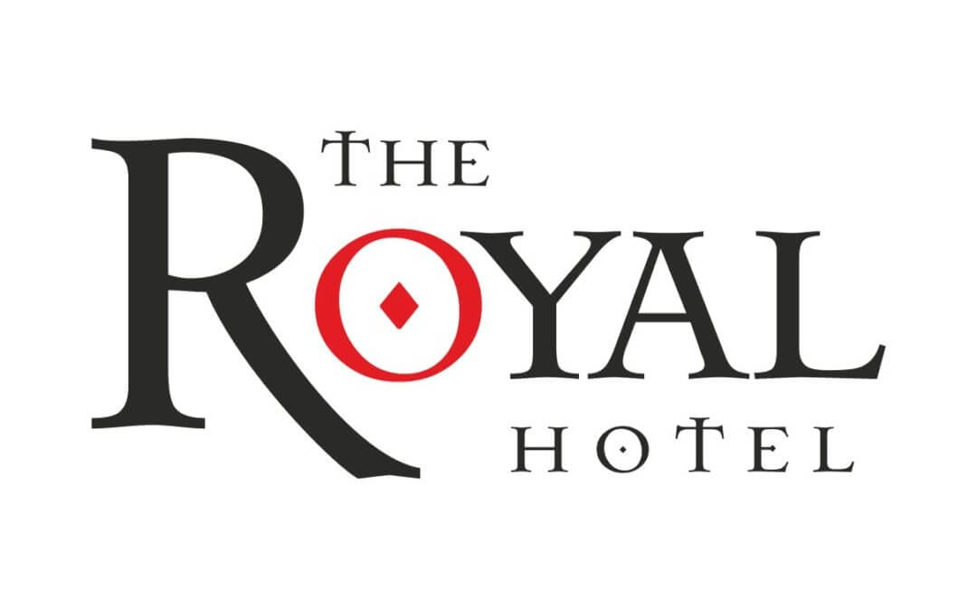 Royal Hotel Logo - Colour It In