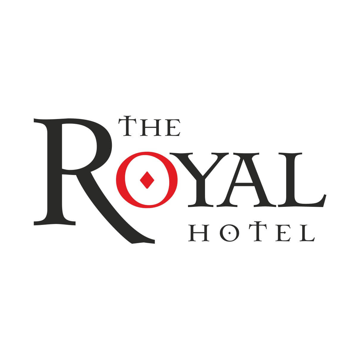 Royal Hotel Logo | Colour It In