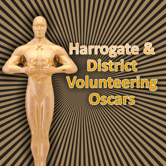 Harrogate & District Volunteering Oscars Logo