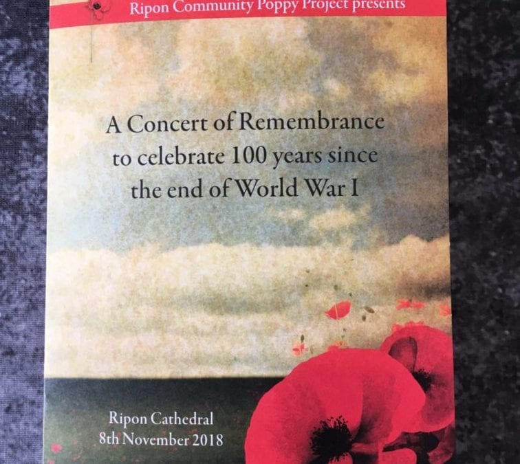Ripon Community Poppy Project - Colour It In