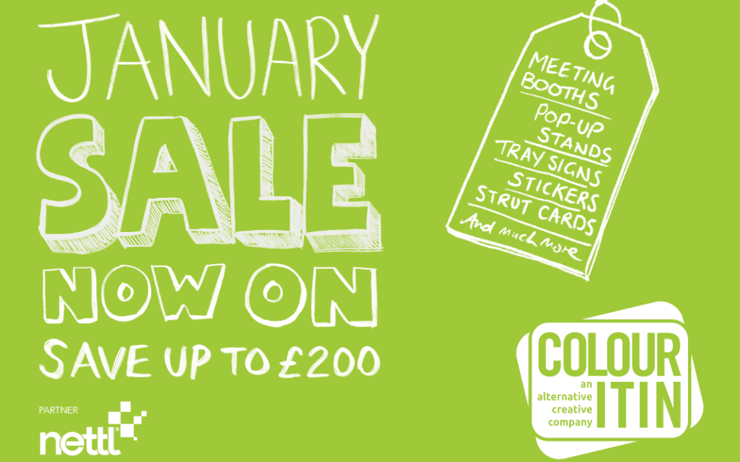 January Sale Now On – Exhibition Display