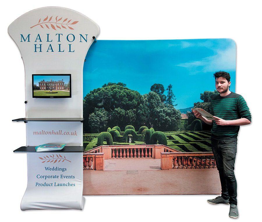 Malton Hall - Colour It In