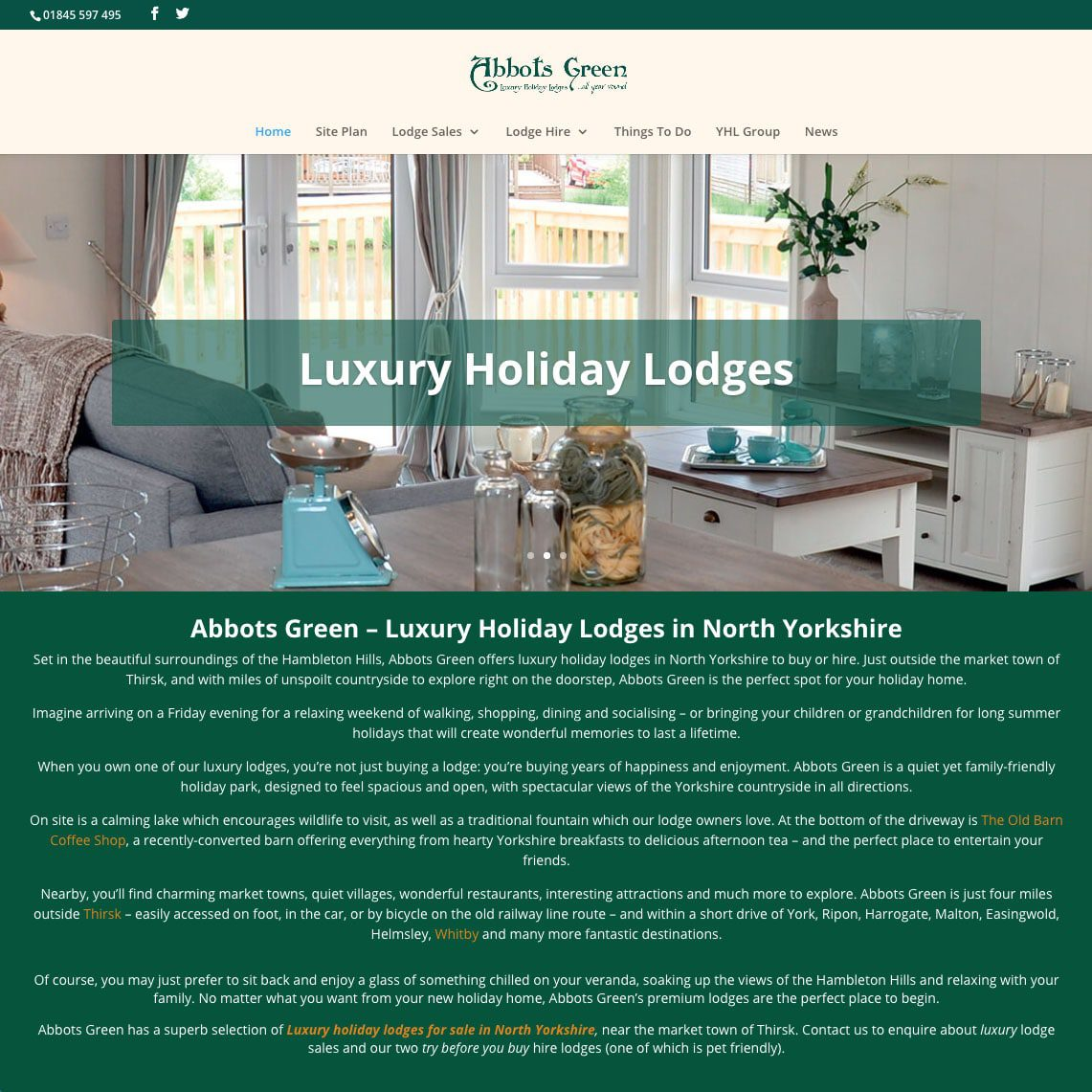 Luxury Holiday Lodge - Colour It In