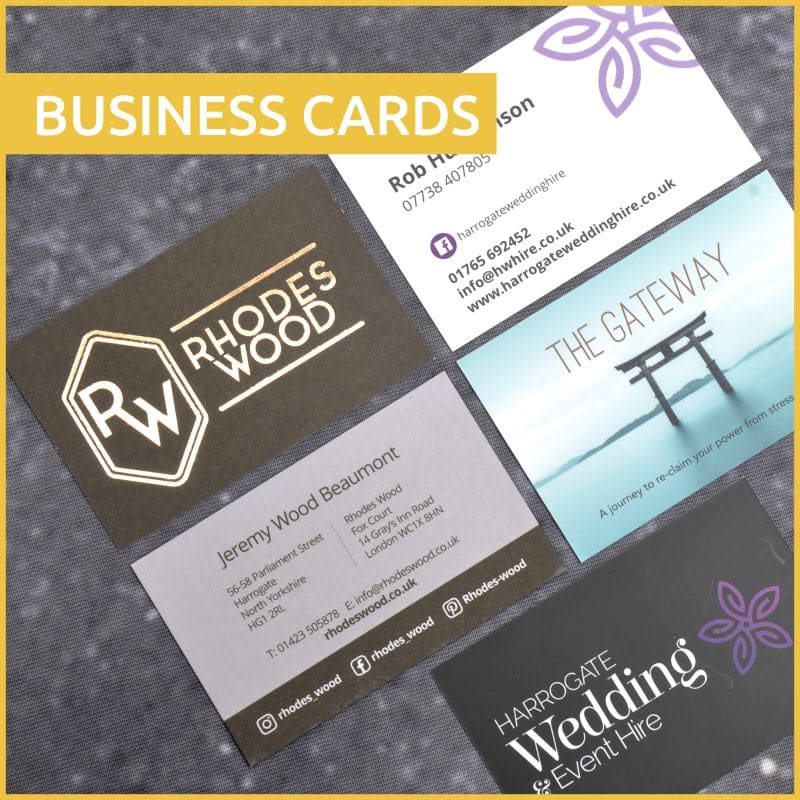 Business Cards - Colour It In