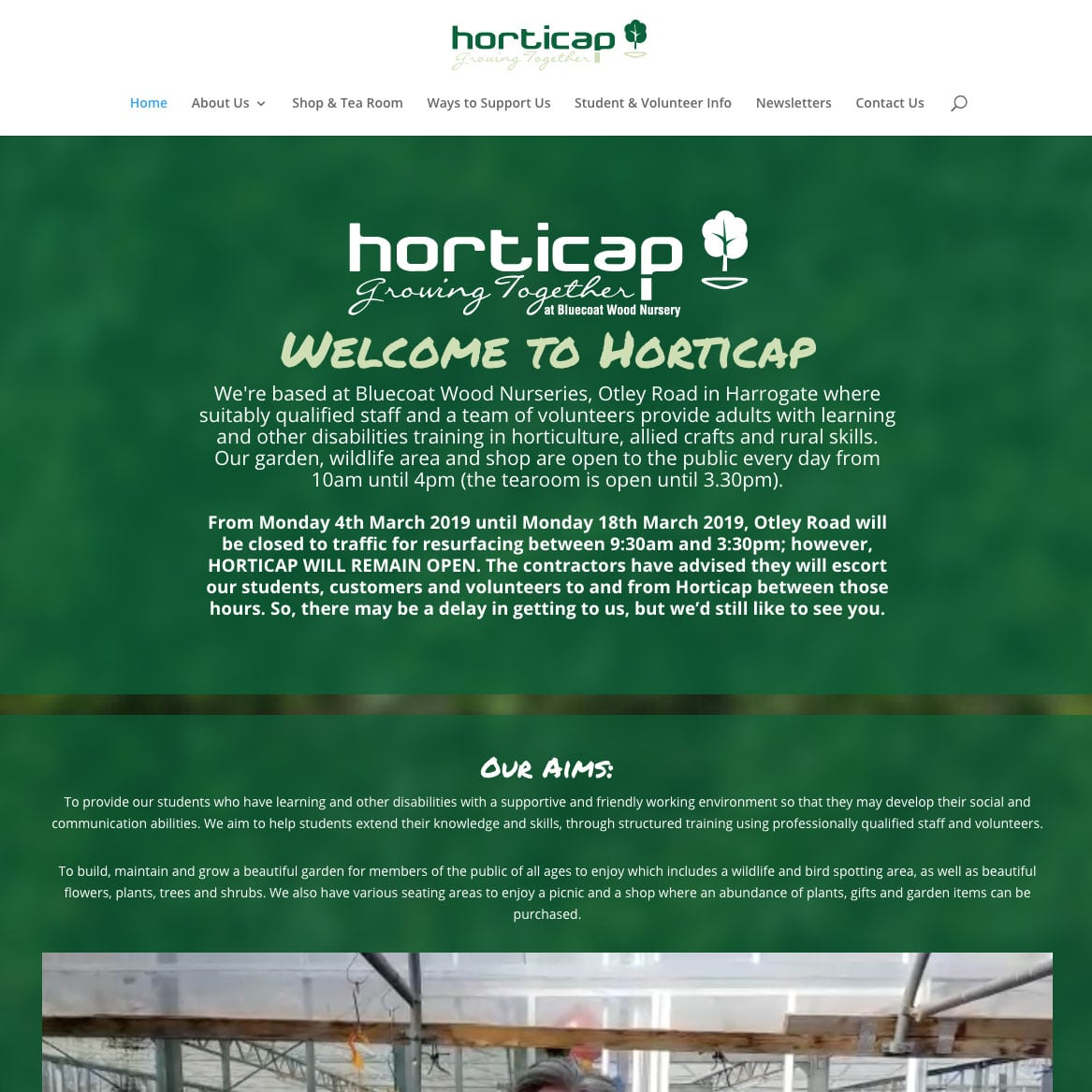 Horticap Website - Colour It In