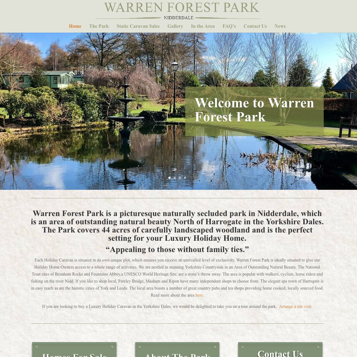 Warren Forest Park - Colour It In