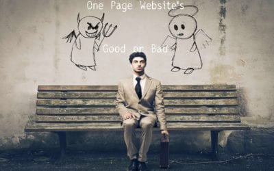One Page Websites Good or Bad?