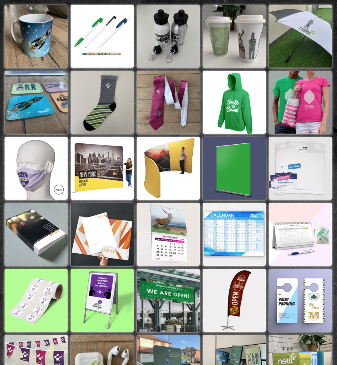 promotional products colour it in