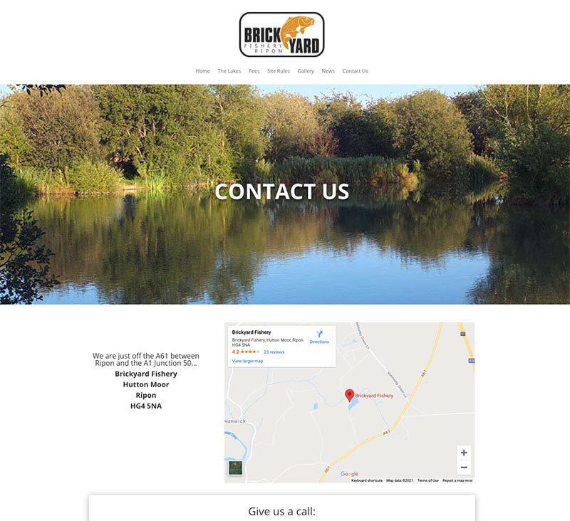 Brickyard Website Contact