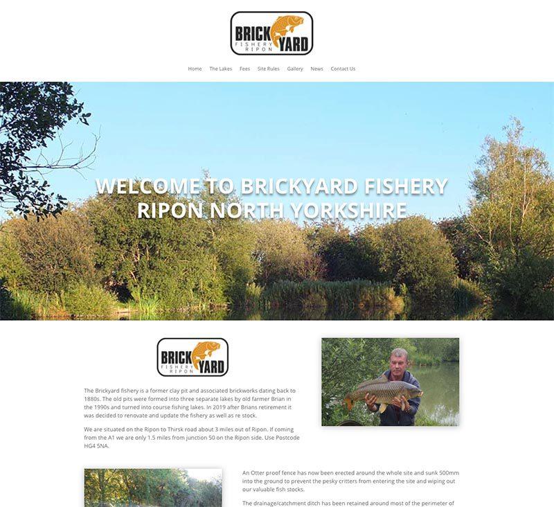 Brickyard Website Homepage