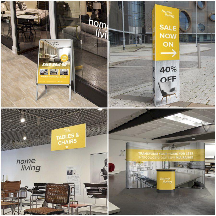 Home Retail Display Samples