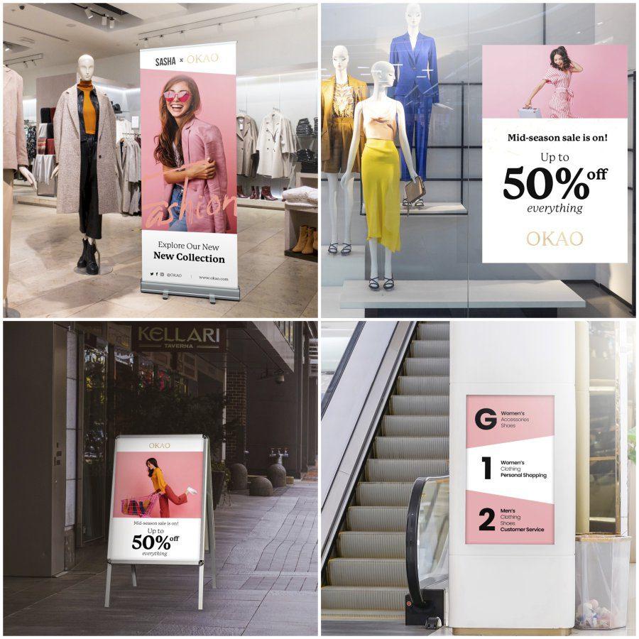 Retail Display Samples
